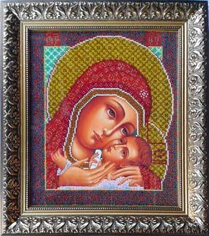 Богородица Корсунская схема для вышивки бисером