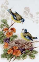 Птички у гнезда