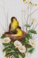 Птички в гнёздышке