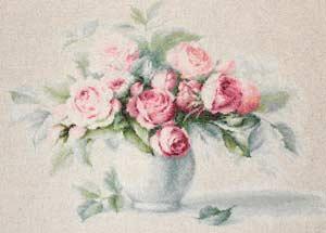 -- Этюд с чайными розами