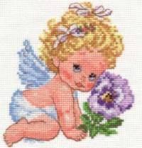 Ангелок счастья-набор для вышивания