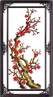 - Цветущая сакура 1 вышивка крестом