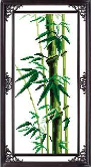 Бамбук - вышивка крестом