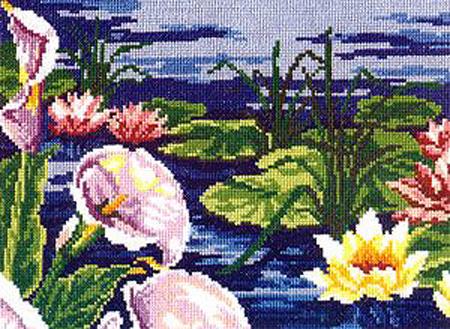 Каллы и лилии - набор для