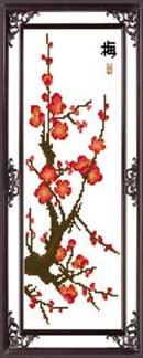 - Цветущая сакура 2 вышивка крестом