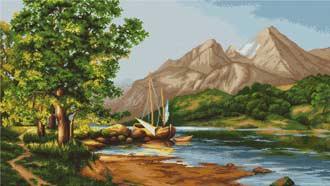 - Горное озеро