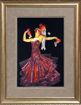 Танго вышивка бисером