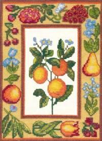 Апельсины - набор для вышивки крестом