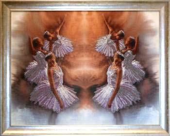 Элегантность 2 вышивка бисером