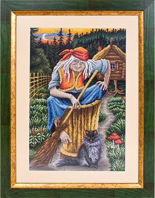 Бабы вышивка крестиком