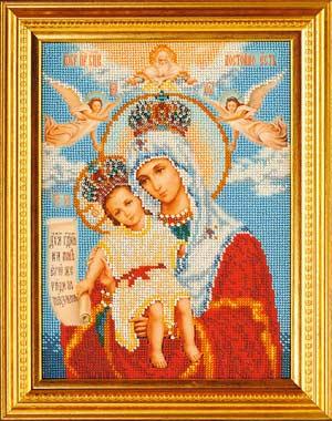 Богородица Милующая-набор для вышивки бисером