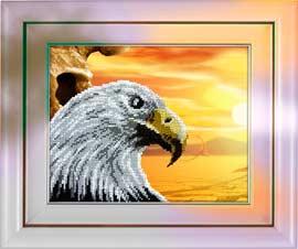 Орел - набор бисером