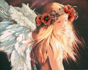Ангел в маковом венке