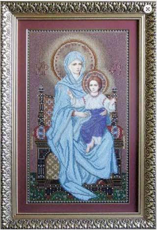 Богородица на Троне - схема