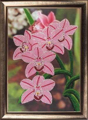 Орхидеи набор вышивки бисером