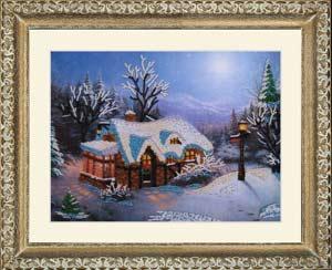 Зимняя сказка набор вышивки бисером