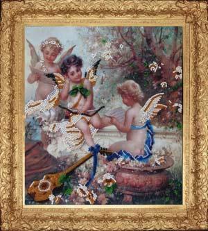 Райская мелодия набор вышивки бисером