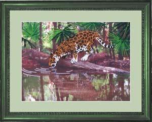 Леопард набор вышивки бисером