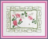 Вышивка лентами - Хризантемы
