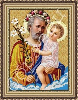Св. Йосип и Иисус