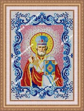 Св. Николай Чудотворец в рамке