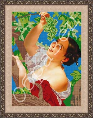 Итальянский полдень (Виноградница) схема
