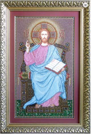 Иисус на Троне схема для