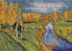 - Осень Левитана (полная зашивка)