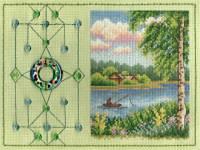 Вышивка крестом Талисман рыбака