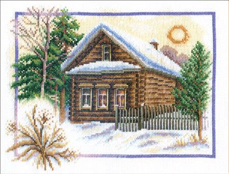 Зима в деревне - набор для