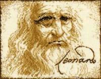 Набор для вышивки крестом - Автопортрет Леонардо