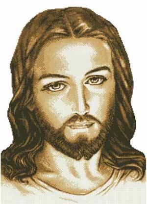 Иисус - вышивка бисером