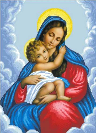 -Мария и Дитя схема полной