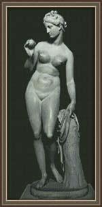 Вышивка крестом Венера