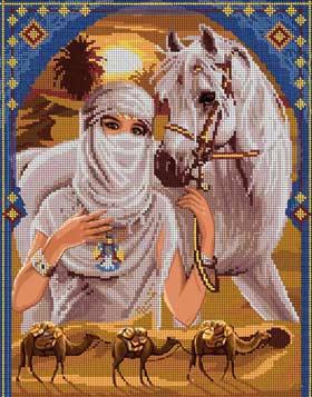 - Пустыня - схема вышивки бисером