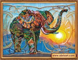 Мозаичный слон