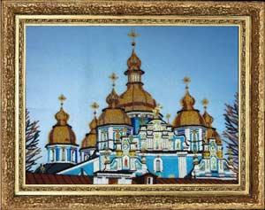 Михайловский собор вышивка бисером