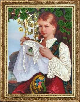Рукодельница вышивка бисером