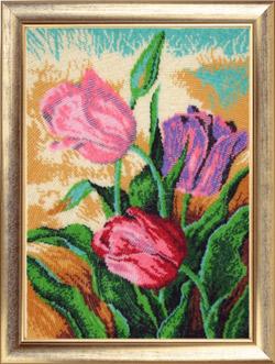 - Весенние тюльпаны