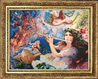 Мелодия Вселенной (по картине J. Wall)