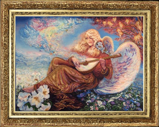 Ангельский мотив (по картине J. Wall)
