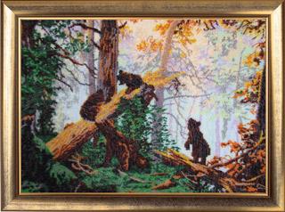 - Утро в сосновом лесу (по картине И. Шишкина)