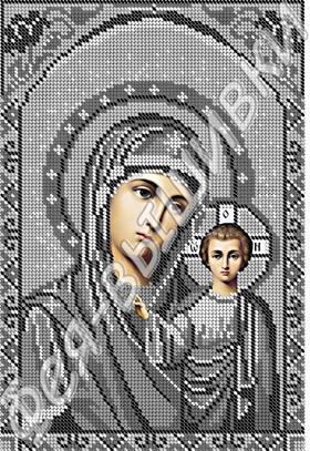 Богородица Казанская - серебро