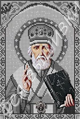 Николай Чудотворец - серебро