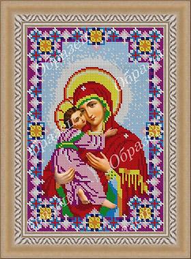 Владимирская икона - схема