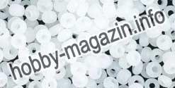 -Бисер 02090 Чехия белый алебастр 5 грамм