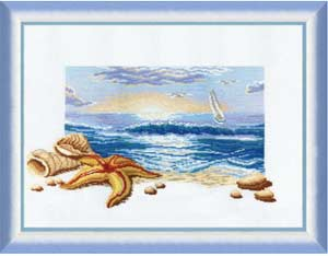 Триптих Морской рассвет 210