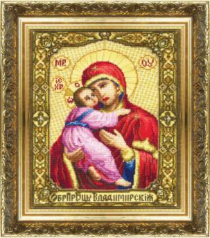 Икона Образ Пресвятой Богородицы Владимирской