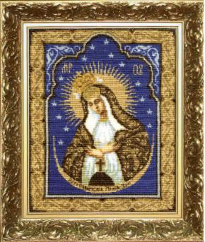 Икона Образ Пресвятой Богородицы Остробрамская