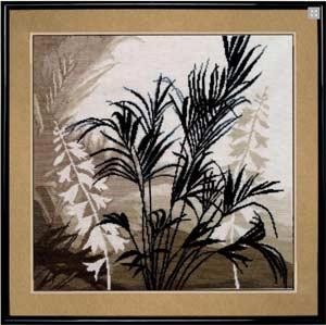 Триптих Пальмовые листья